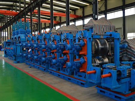 Square Pipe Mill with Direct Square ​Forming Process